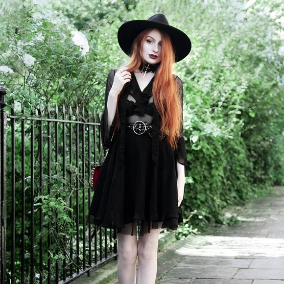 3a43c6545f Killstar Dresses   Skirts - Killstar decay nu mourning dress 🌚